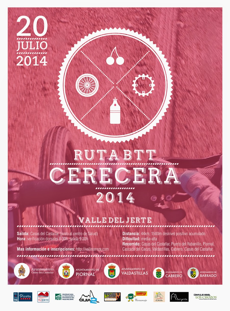 "RUTA BTT ""Entre Cerezos"" Cerecera 2014"