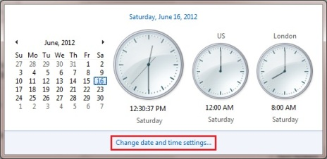 Display Multiple Clocks in Windows