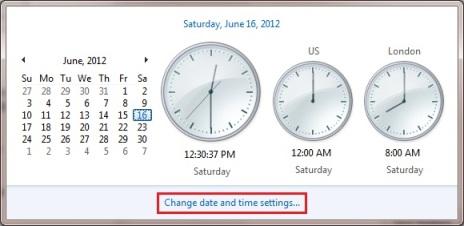 Display Multiple Clocks in Windows