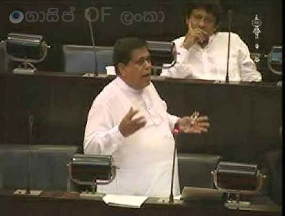 Nimal Siripala speaks at Parliment - (Watch video)