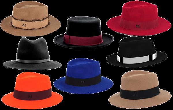 Fedora Hats Maison Michel