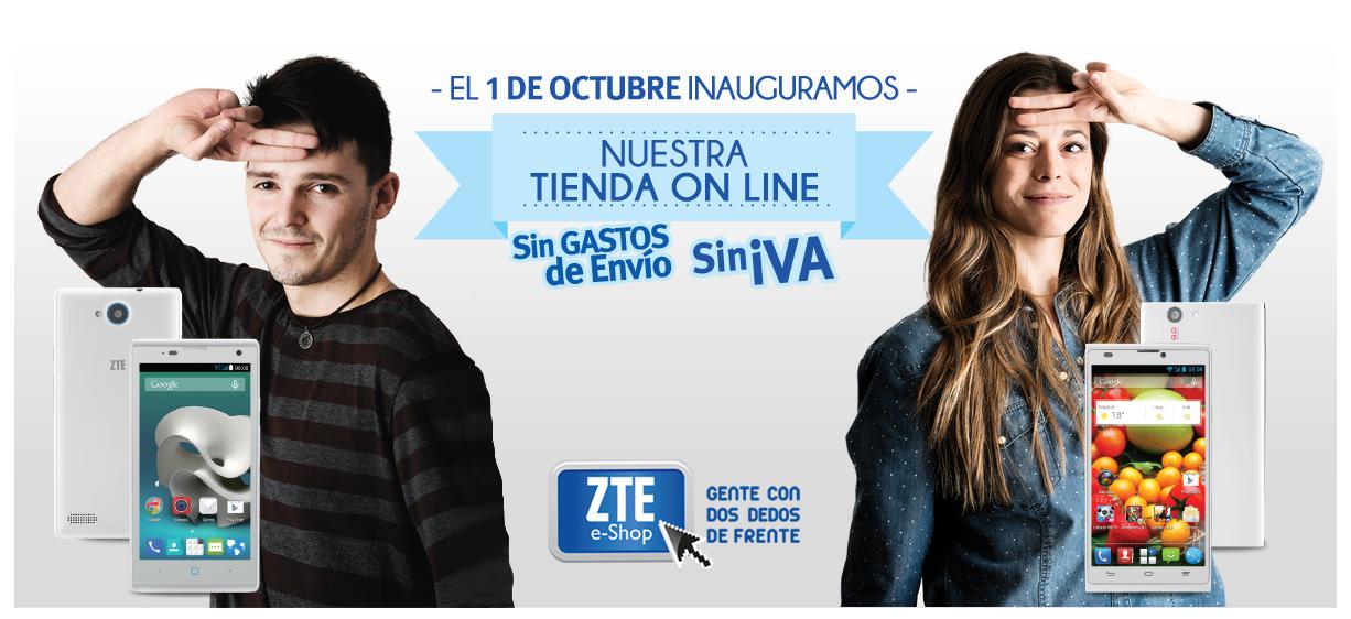 El 1 de Octubre ZTE abre su tienda online en España.