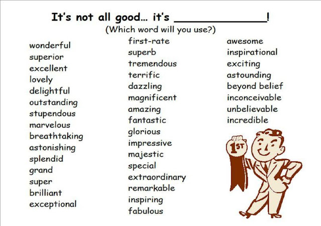 good words for english essays