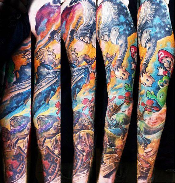 tattoo artist guil zekri cartoon tattoo best tattoos