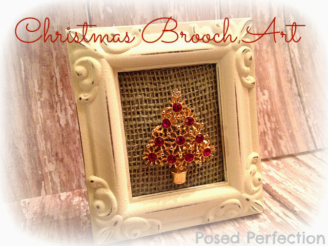 Christmas Brooch Art