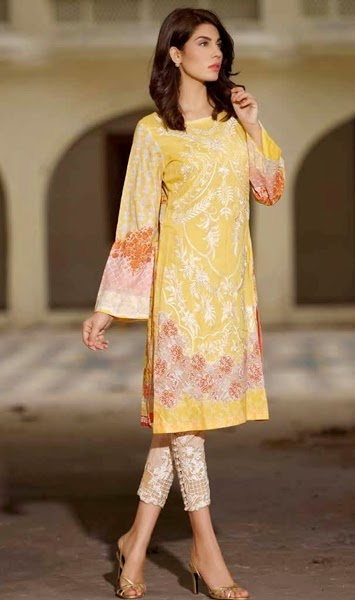Sobia Nazir Tunic-Kurti Collection for Summer 2015-16