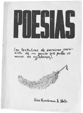 Meu primeiro livro de poemas.