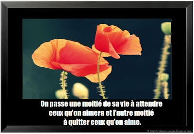 Citation attendre sur photo