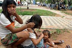 INDÍGENAS PARAGUAYOS EN CONTRA DEL BICENTENARIO
