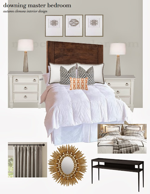 Design Dump Design Plan Neutral Master Bedroom