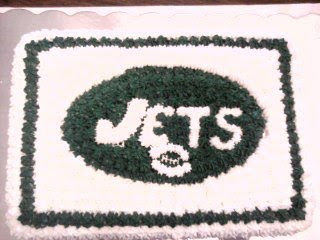 Jets birthday cake