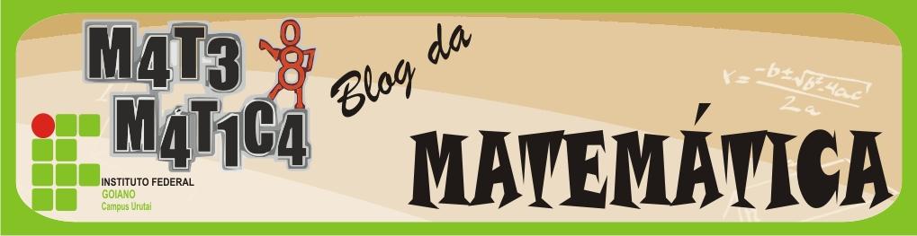 Matemática - IF Goiano Campus Urutaí