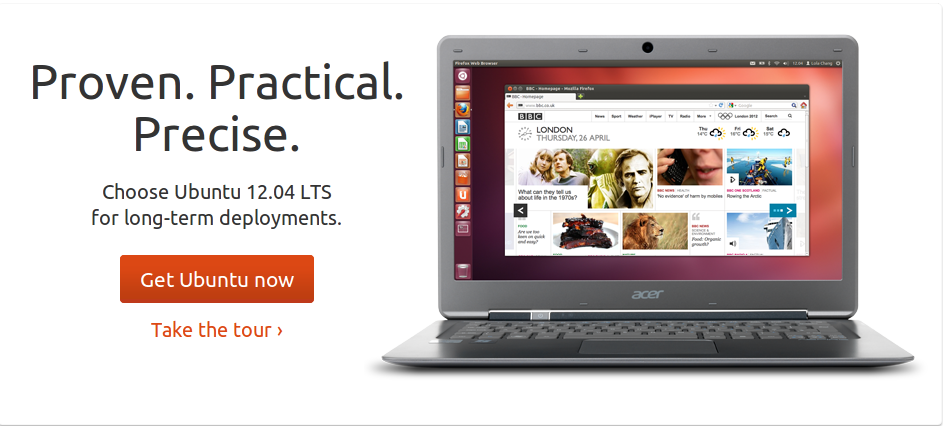 Ubuntu 12.04 LTS siap diunduh