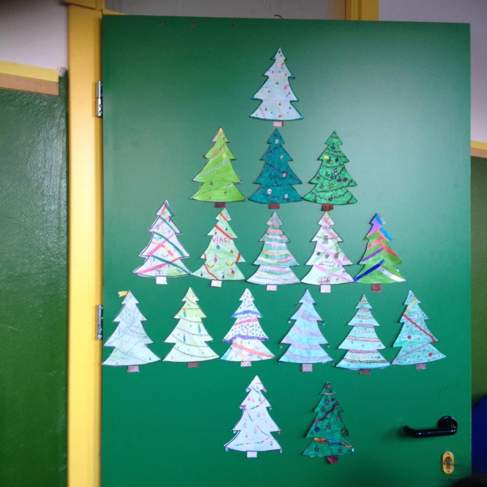 Top decorazioni natalizie scuola primaria lp57 pineglen - Addobbi natalizi per finestre scuola infanzia ...