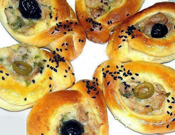 Recette des petits pains au thon