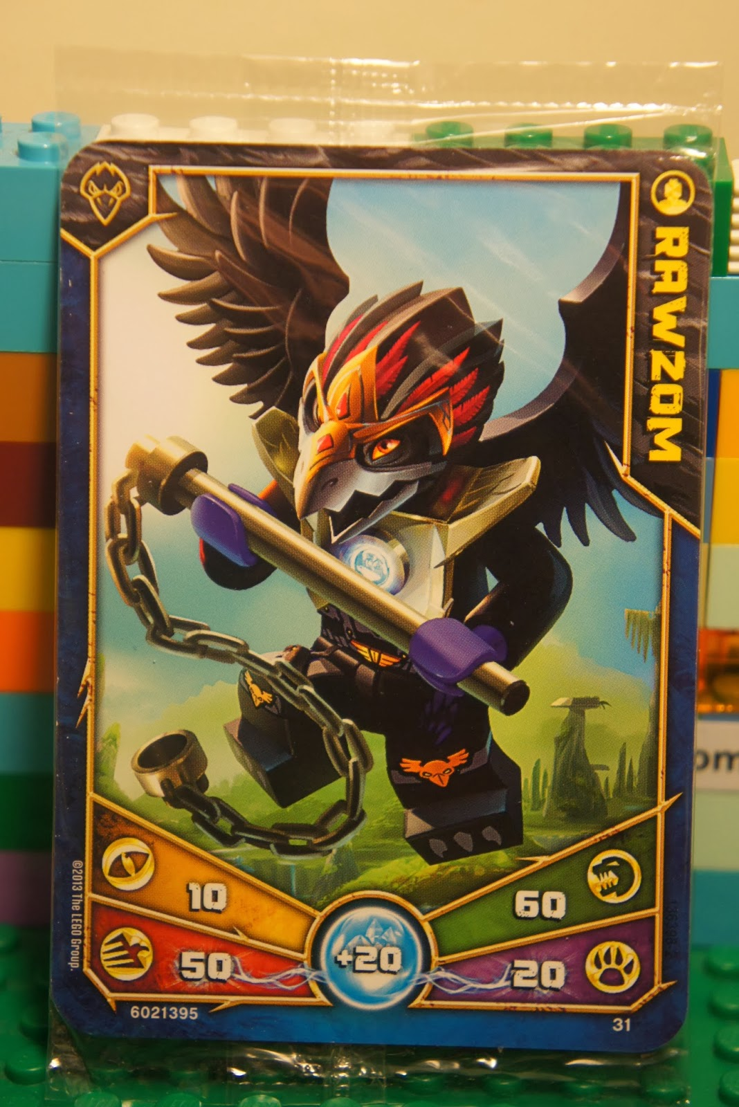 LEGO Legends of Chima RAWZOM 5-Pack Raven Tribe Trading ...