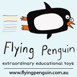 Flying Penguin. Extraordinary, educational toys.
