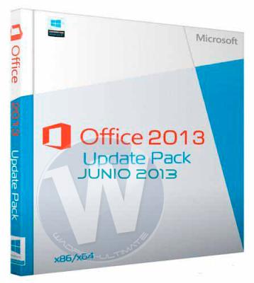 Microsoft Office 2013 Update Pack Junio 2013 Multi – Español X32Bits