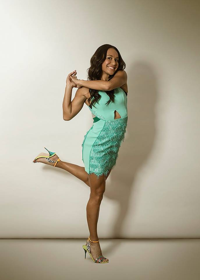 Hotties hot shot heather watson dresses up for daily mail photoshoot