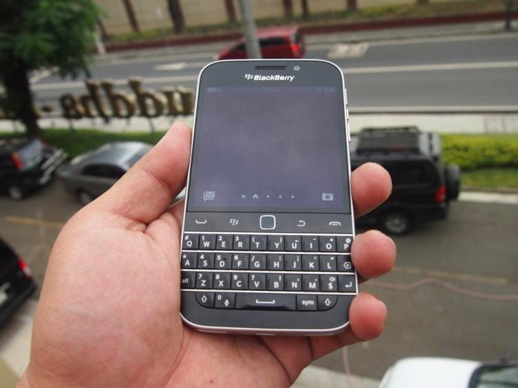 BlackBerry Classic Launched Locally For Php20,990