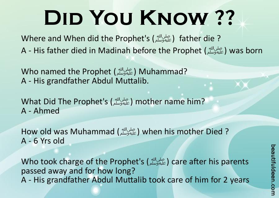 Life of Prophet Muhammad (S.A.W) - 2 ~ Beautiful Deen