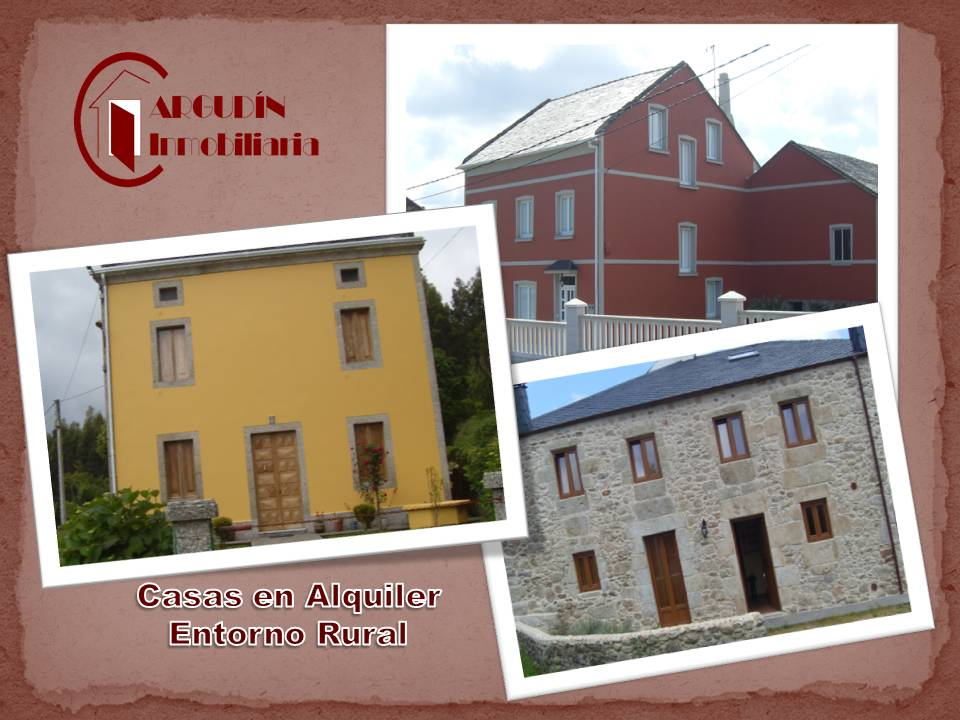 Argudin servicios inmobiliarios alquiler venta alquiler - Alquiler casa rural galicia ...