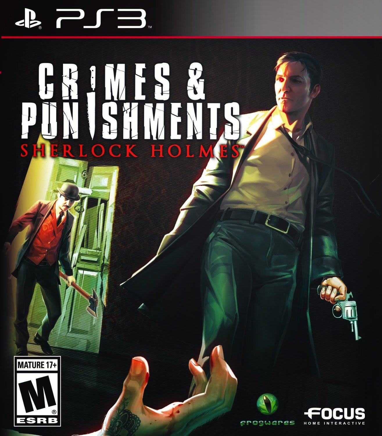 Juegos confirmados PlayStation Plus Marzo 2015 - Sherlock Holmes: Crimes and Punishments,  CounterSpy y muchos más
