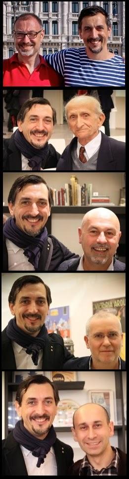 Meeting Lucio Del Piccolo, Luciano Allasia, Mauro Carli, Francesco Ceccarelli, Andrea Moretto...