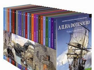 Coleção Grandes Clássicos da Literatura em Quadrinhos Edições delPrado: A Ilha do Tesouro