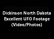 Excellent UFO Footage Taken From Dickinson North Dakota