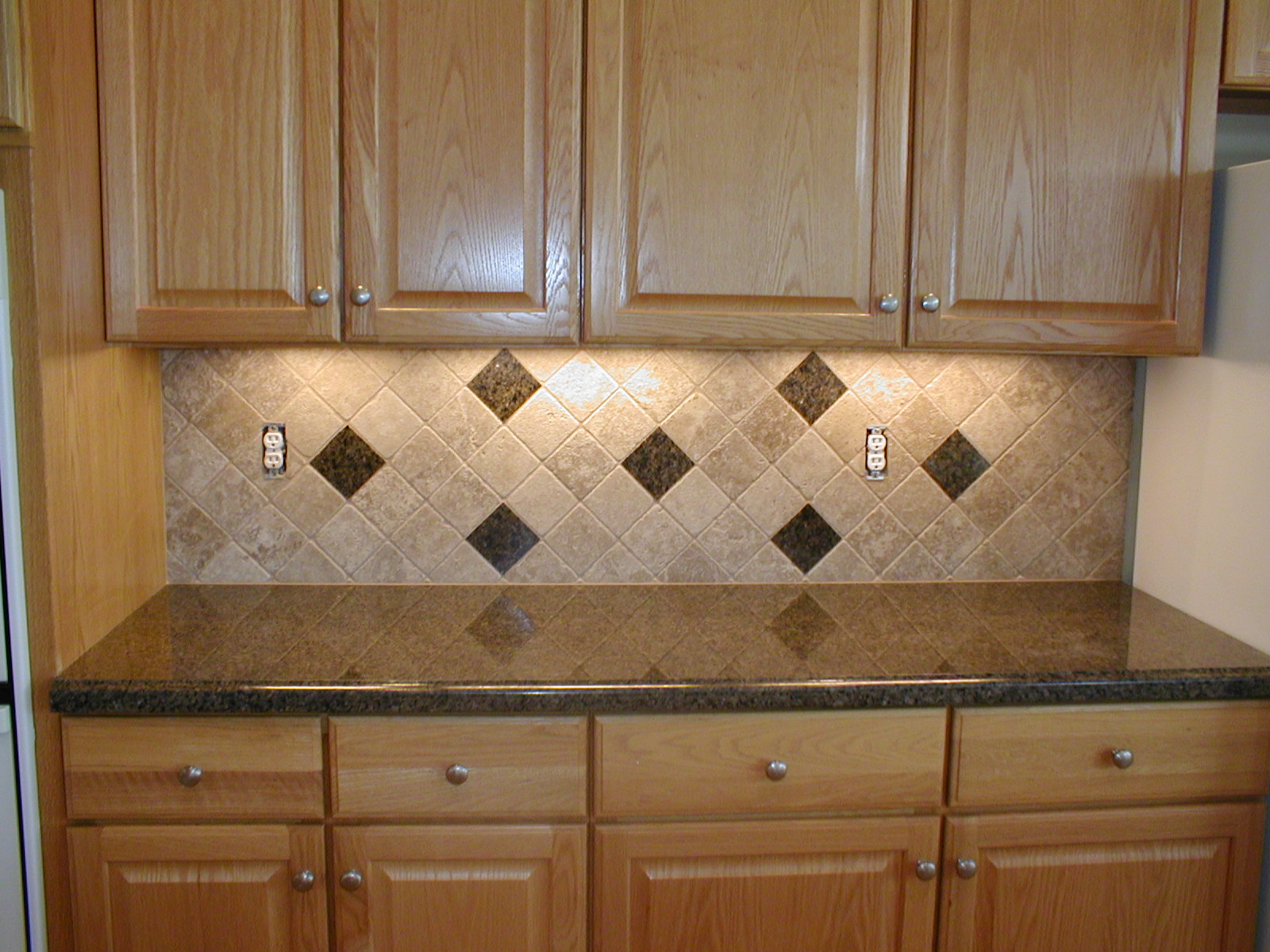 Integrity installations a division of front range backsplash 4x4 tumbled - Backsplash designs travertine ...