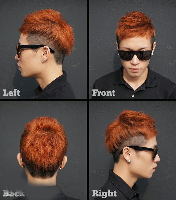 Kiểu tóc Undercut theo phong cách Hàn đầy sáng tạo