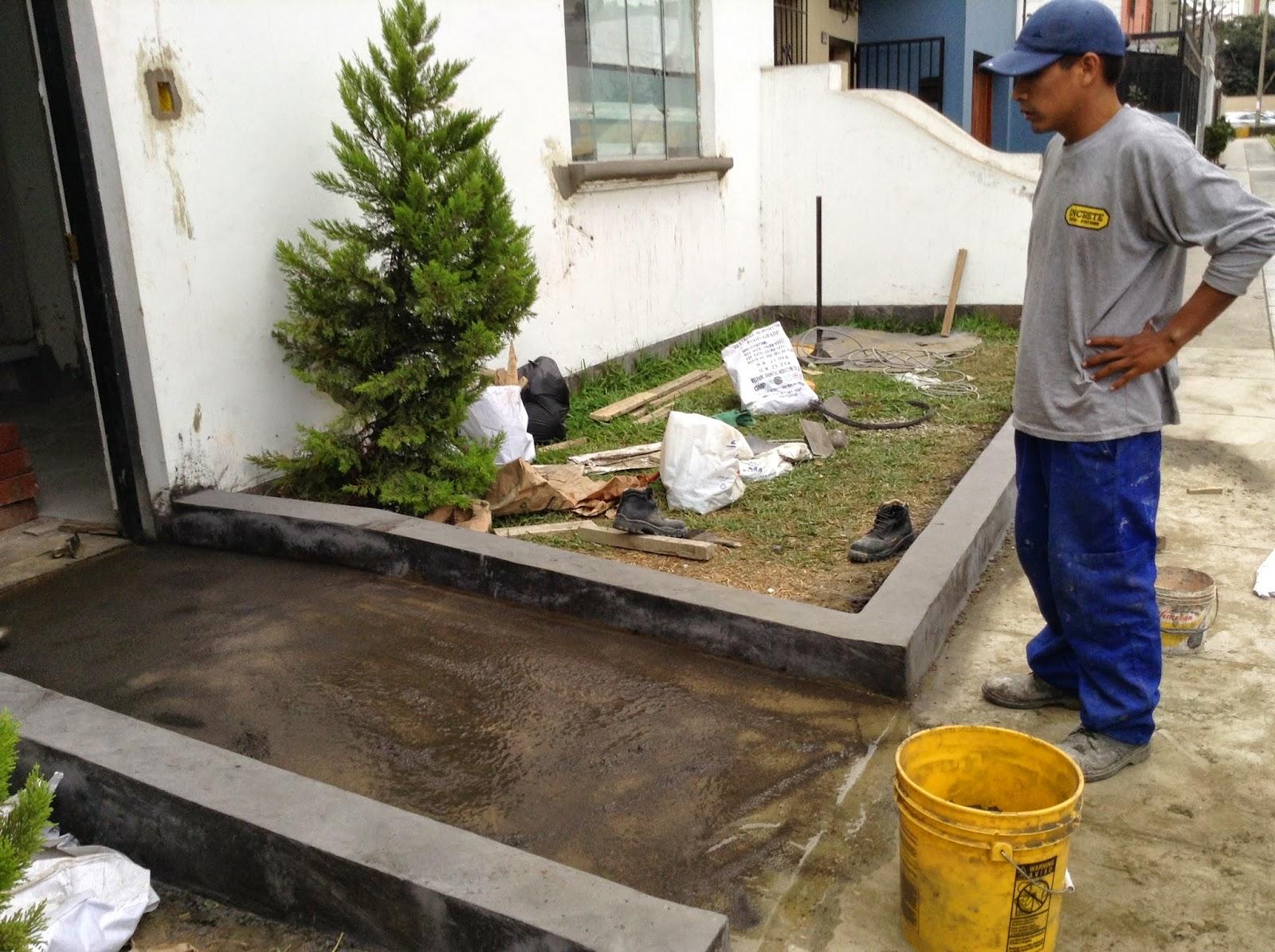 Oniria Construcci N De Rampa Y Sardineles