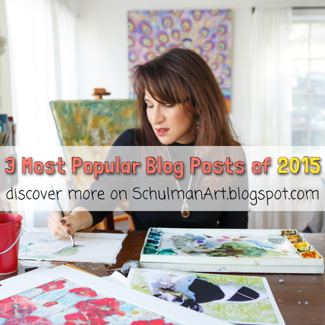 3 most popular art blog posts of 2015 http://schulmanart.blogspot.com/2016/01/3-most-popular-art-blog-posts-of-2015.html