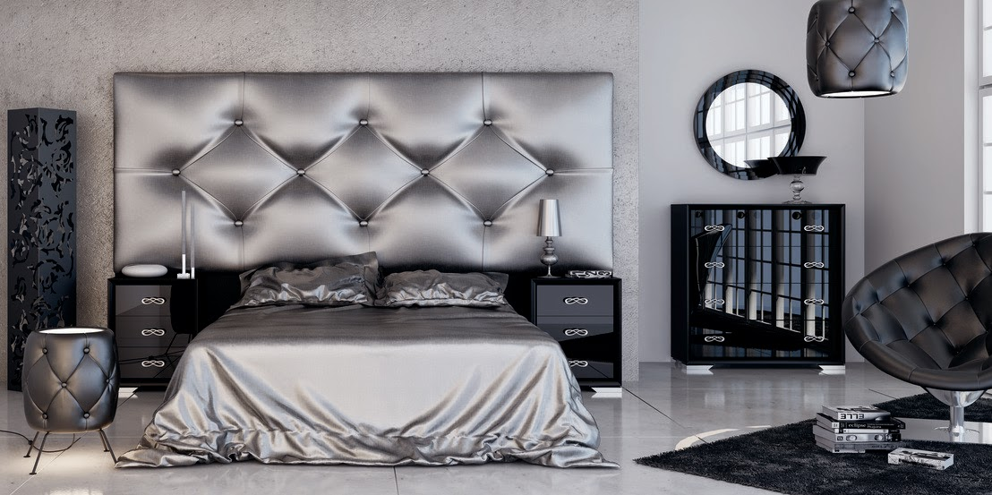 luxury bed headboards designs in sophisticated style
