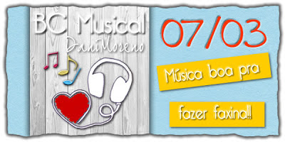 Blogagem Musical da Dani Moreno: Música para fazer faxina.