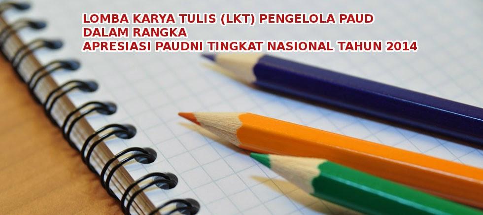 Artikel LKT Apresiasi PAUDNI Nasional 2014
