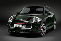 Mini John Cooper Works Convertible (2016) Front Side