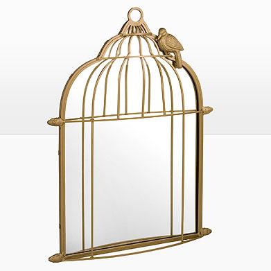Superfluo imprescindible la jaula espejo de zh - Jaulas decorativas zara home ...