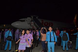 lega rasanya udah sampai di Indonesia