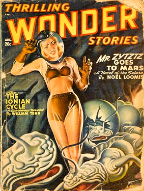 Alien Encounters in a 1948 Science-Fiction Magazine