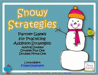 http://www.teacherspayteachers.com/Product/Snowy-Strategies-Games-for-Addition-Doubles-978405