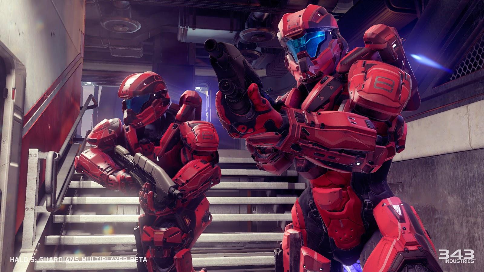 Somnambulant Gamer: Halo 5 Multiplayer Beta And the Master Chief