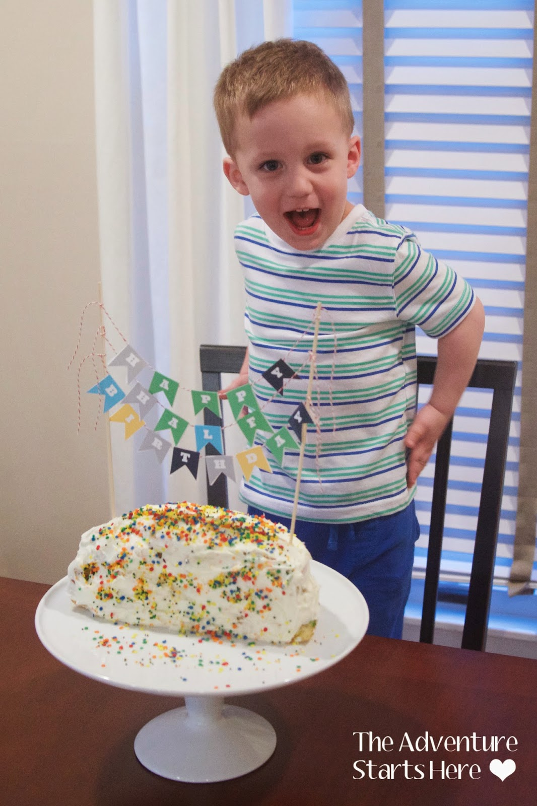 The Adventure Starts Here Happy Half Birthday Noah is 2 12