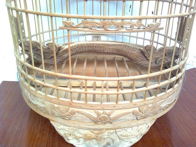Lồng chim cu gáy thổ đẹp CG003