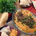 Pumpkin Hummus w/ Spiced Lamb