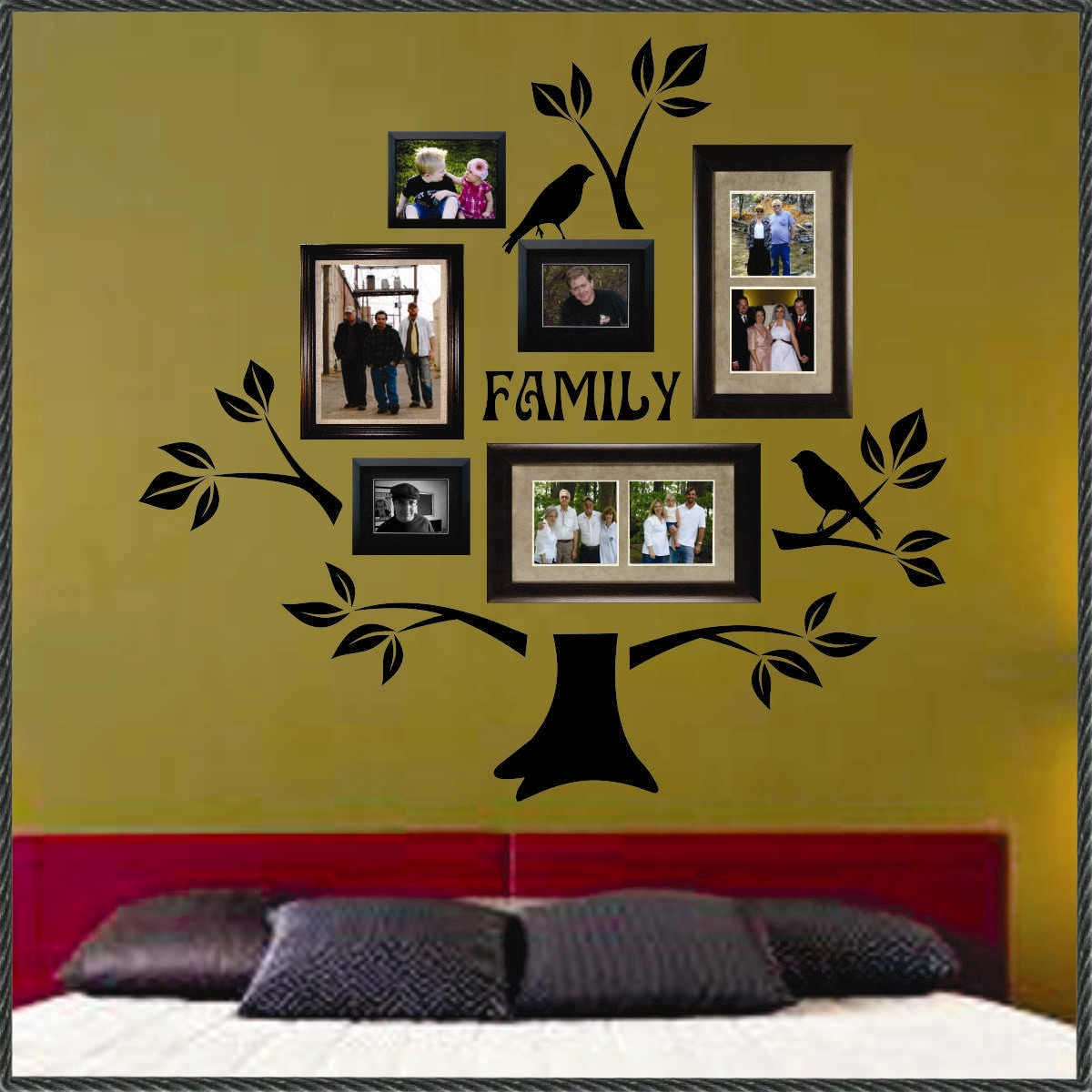 Walls That Talk: Vinyl Family Tree Kit is a Bargain