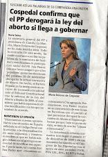 Derogación de la ley del Aborto