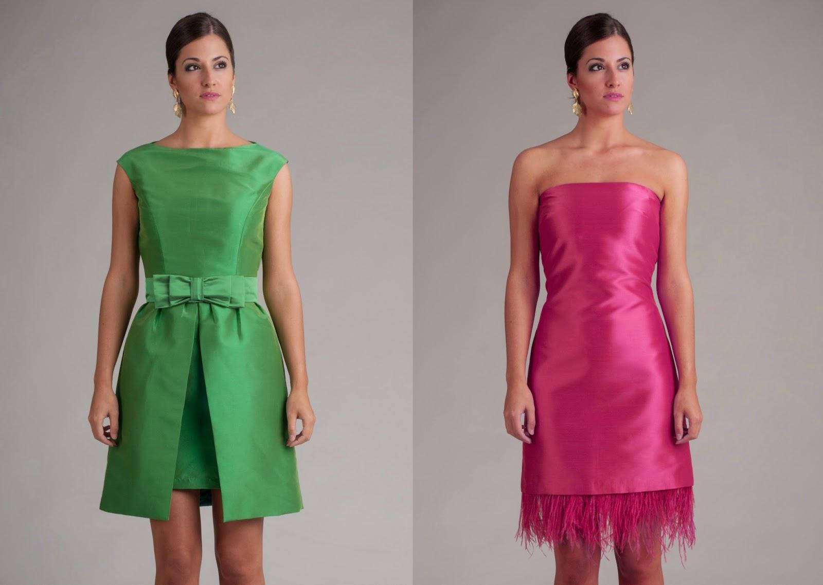 Vestidos de la colección primavera-verano 2014 de Blancaspina