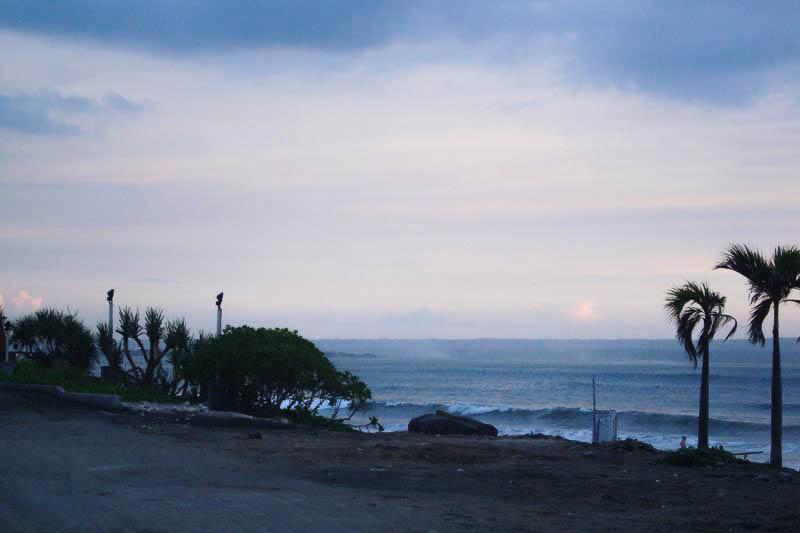View Lokasi Tanah Dari Arah Pantai Batu Belig